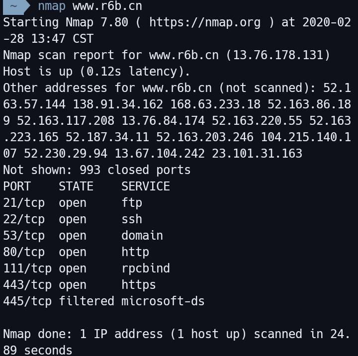 图片[2]-在termux下安装并简单使用nmap