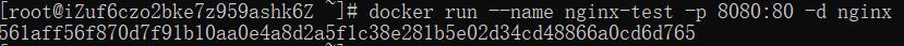 图片[5]-基于阿里云ECS搭建Docker环境安装Nginx